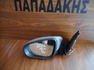 VW Golf 6 2008-2013 αριστερός καθρέπτης ηλεκτρικός γκρι άβαφος 6 καλώδια