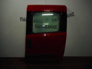 Fiat Doblo 2010-2018 πόρτα πίσω αριστερή συρόμενη κόκκινη