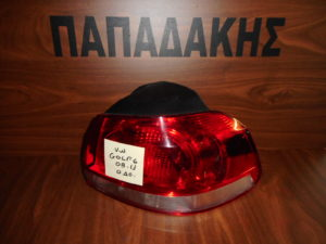 VW Golf 6 2008-2013 πίσω δεξιό φανάρι κόκκινο